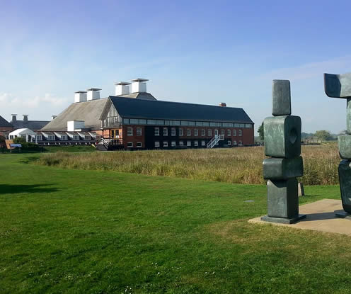 Snape Maltings and Concert Hall