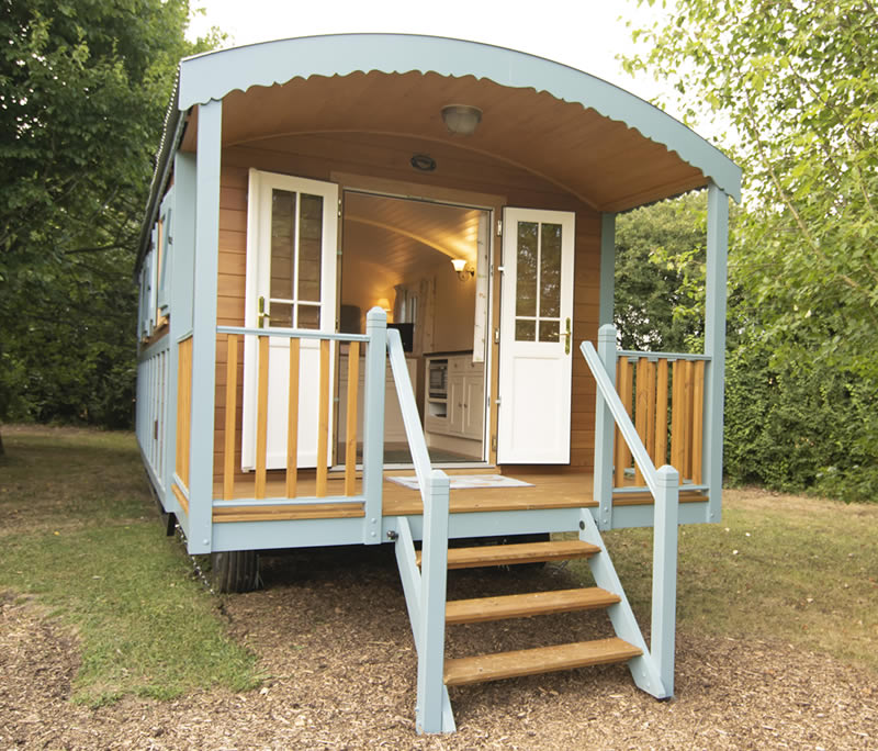 Gypsy caravan holiday park